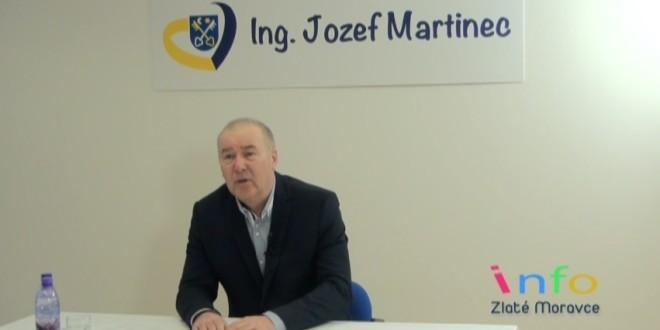 Ing. Jozef Martinec oficiálne ohlásil kandidatúru