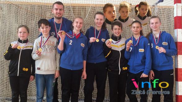 Majstri Slovenska v halovom hokeji do 14 rokov