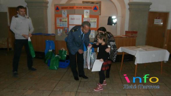 Ocenené predškoláčky zMŠ Kalinčiakova vo výtvarnej súťaži