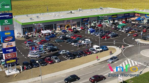 b043b1b93225a Slávnostné otvorenie nákupného centra VENDO PARK - Zlaté Moravce info