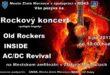 Rockový koncert na amfiku