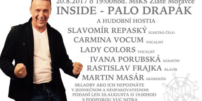 Nechaj sa viesť – hudobný večer s Inside a hosťami