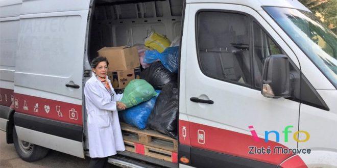Zamestnanci zlatomoraveckej nemocnice podali pomocnú ruku ľuďom vnúdzi