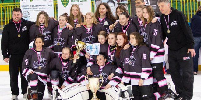 Víťazkami Viliam Pongrác memoriál CUP 2018 sú ST Hockey Girls pod vedením Zlatomoravčana T. Segíňa