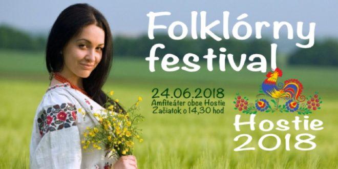 Folklórny festival Hostie 2018