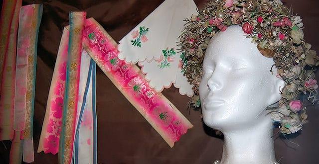Výstava krojov aľudového odievania v Kozárovciach