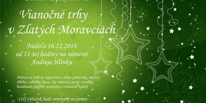 Vianočné trhy v Zlatých Moravciach