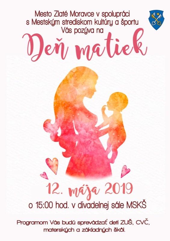 Deň matiek Zlaté Moravce 2019