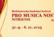 FESTIVAL KLASICKEJ HUDBY  PO DRUHÝ KRÁT VNITRIANSKOM KRAJI PRO MUSICA NOSTRA NITRIENSI