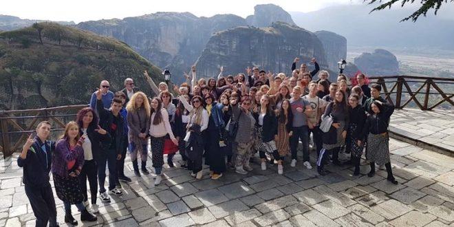 Študenti SOŠ polytechnickej na mobilite v Grécku