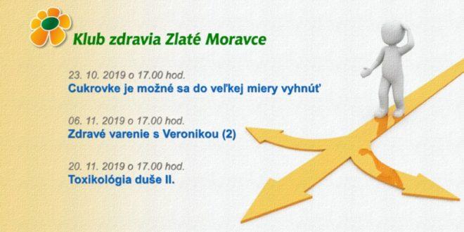 Jesenný program Klubu zdravia Zlaté Moravce