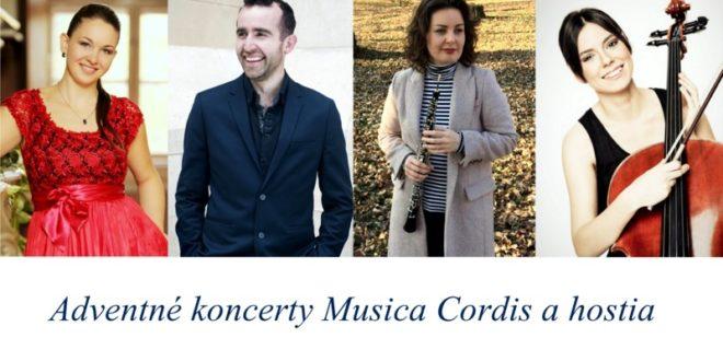Musica Cordis – Hudba srdca Vás pozýva na výnimočné Adventné koncerty