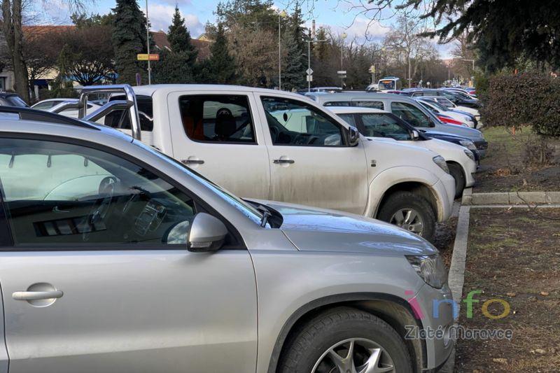 Parkovanie v Zlatých Moravciach