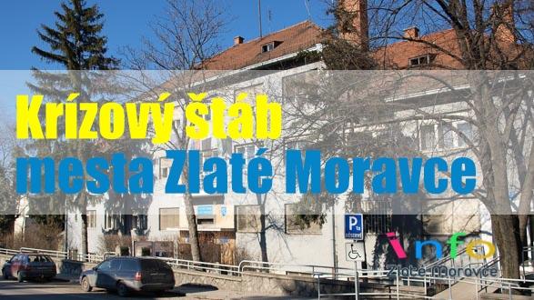 Zasadnutie Krízového štábu v meste Zlaté Moravce 2. 7. 2020