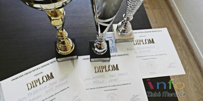 Úspech žiakov SOŠ technickej vZlatých Moravciach vsúťaži ENERSOL SK 2020