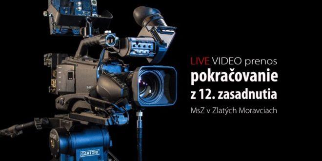 LIVE prenos z pokračovania 12. MsZ v Zlatých Moravciach