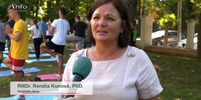 Európsky týždeň športu na Gymnáziu v Zlatých Moravciach