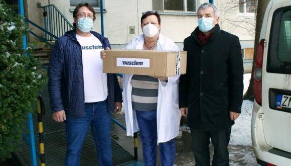Darovanie vitamínov pre tých najzraniteľnejších